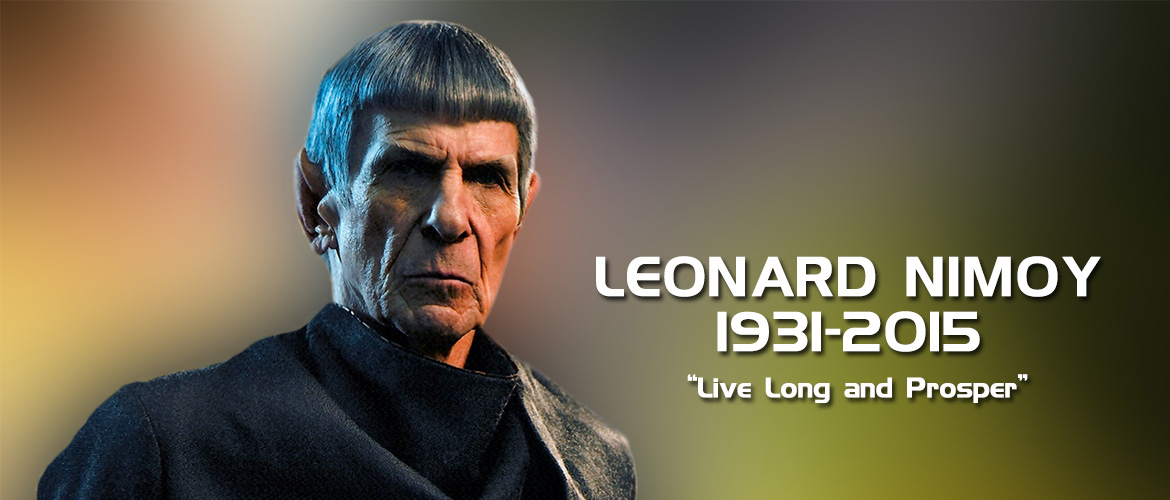 "Leonard Nimoy ""Live Long and Prosper"" dies at 83"
